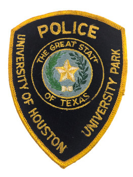 UNIV HOUSTON UNIV PARK TX POLICE PATCH