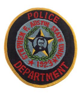 STEPHEN AUSTIN UNIV TX POLICE PATCH