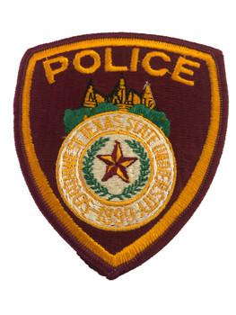 SOUTHERN TX UNIV POLICE PATCH