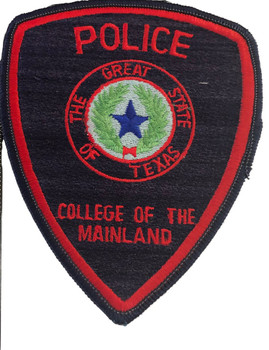 MAINLAND COLLEGE TX POLICE PATCH