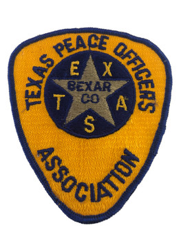 TEXAS PEACE OFFICERS ASSOCIATION POLICE PATCH
