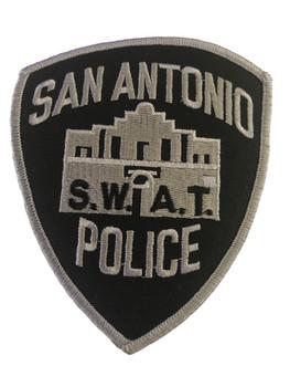 SAN ANTONIO POLICE TX SWAT PATCH