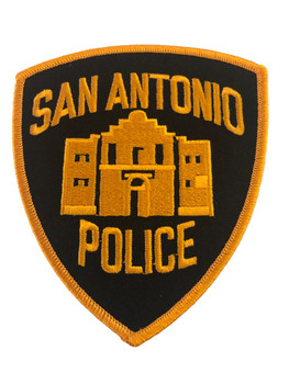 SAN ANTONIO POLICE TX PATCH 2