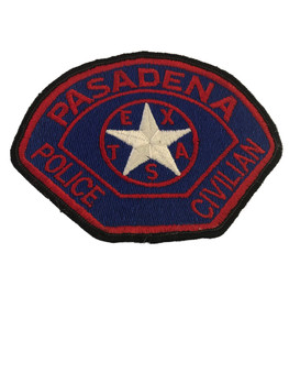 PASADENA POLICE TX CIVILIAN PATCH