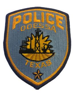 ODESSA POLICE TX PATCH
