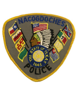 NACOGDOCHES POLICE TX PATCH