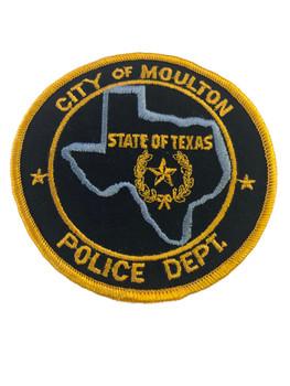 MOULTON TX POLICE PATCH