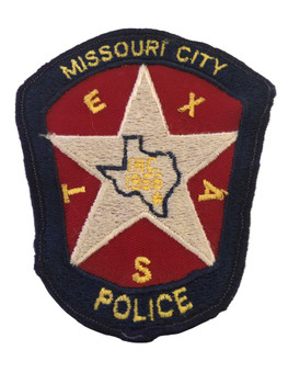 MISSOURI CITY TX POLICE PATCH