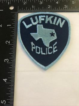 LUFKIN TX POLICE PATCH