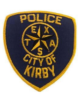 KIRBY TX POLICE PATCH