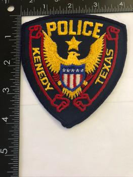 KENEDY TX POLICE PATCH