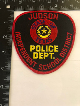 JUDSON TX POLICE PATCH 2