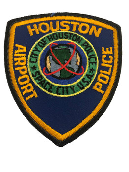 HOUSTON AIRPORT TX POLICE PATCH