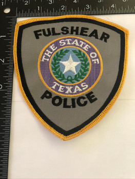 FULSHEAR TX POLICE PATCH