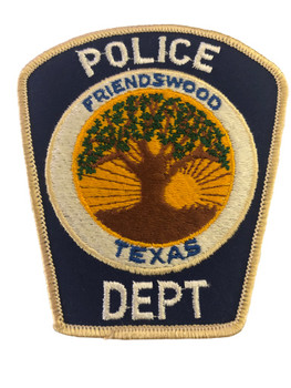 FRIENDSWOOD TX POLICE PATCH