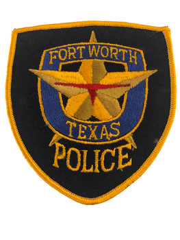 FORT WORTH TX POLICE PATCH