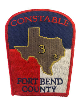 FORT BEND CONSTABLE TX POLICE PATCH