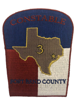 FORT BEND CONSTABLE TX POLICE PATCH 2