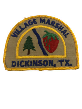 DICKINSON TX POLICE PATCH