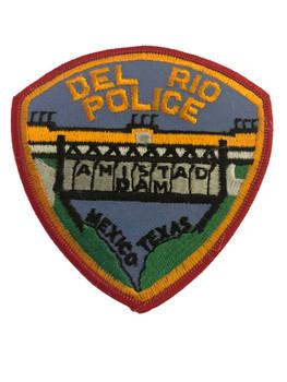 DEL RIO TX POLICE PATCH