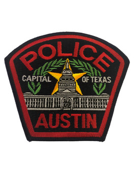 AUSTIN TX POLICE PATCH
