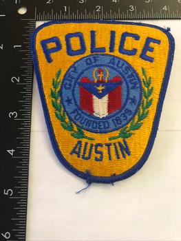 AUSTIN TX POLICE PATCH 2