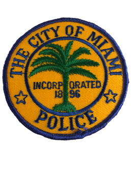 MIAMI FL POLICE PATCH