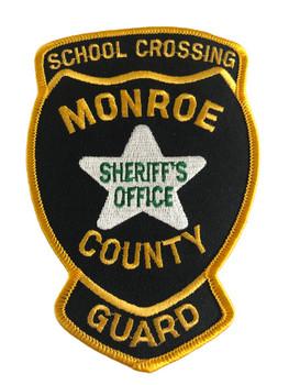 MONROE CTY SHERIFF FL CROSSING GUARD  PATCH
