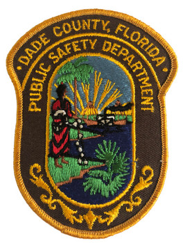 DADE CTY FL PUBLIC SAFETY POLICE PATCH