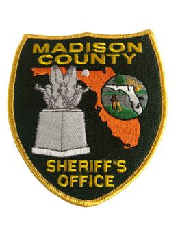MADISON CTY FL SHERIFF PATCH POLICE