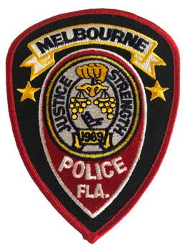 MELBOURNE FL POLICE PATCH