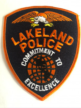 LAKELAND FL POLICE PATCH