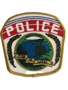 LAKE MARY FL POLICE PATCH