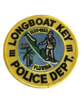 LONGBOAT KEY FL POLICE PATCH