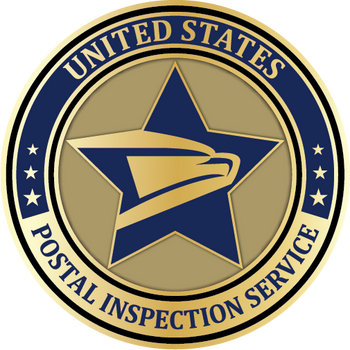 US Postal Inspection Service PLAQUE