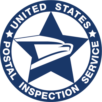 US POSTAL INSPECTION SERVICE Logo PLAQUE