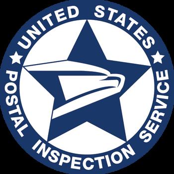 US POSTAL INSPECTION SERVICE Logo PLAQUE
