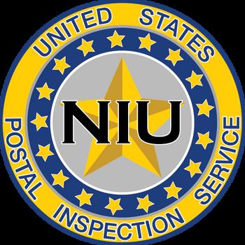 US POSTAL INSPECTION SERVICE NIU PLAQUE