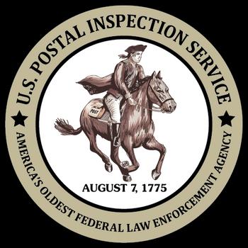 US POSTAL INSPECTION SERVICE OLDEST PLAQUE
