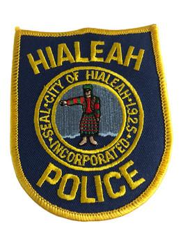 HIALEAH FL POLICE PATCH