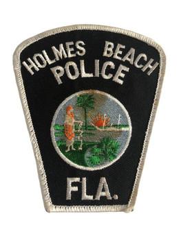 HOLMES BEACH FL POLICE PATCH
