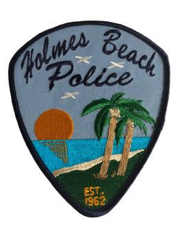 HOLMES BEACH FL POLICE PATCH 2