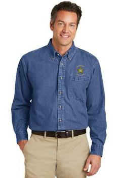 FLAGLER Port Authority® Heavyweight Denim Shirt