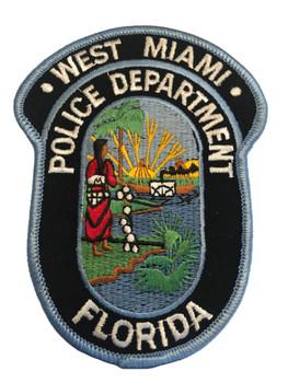 WEST MIAMI POLICE FL PATCH