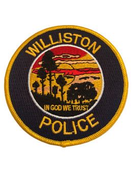 WILLISTON POLICE FL PATCH