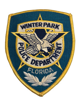 WINTER PARK FL POLICE PATCH