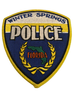 WINTER SPRINGS FL POLICE PATCH