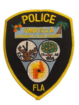 UMATILLA FL POLICE PATCH