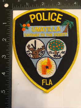 UMATILLA FL POLICE PATCH