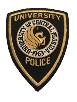 UNIV OF CENTRAL FL POLICE PATCH OLD SCHOOL